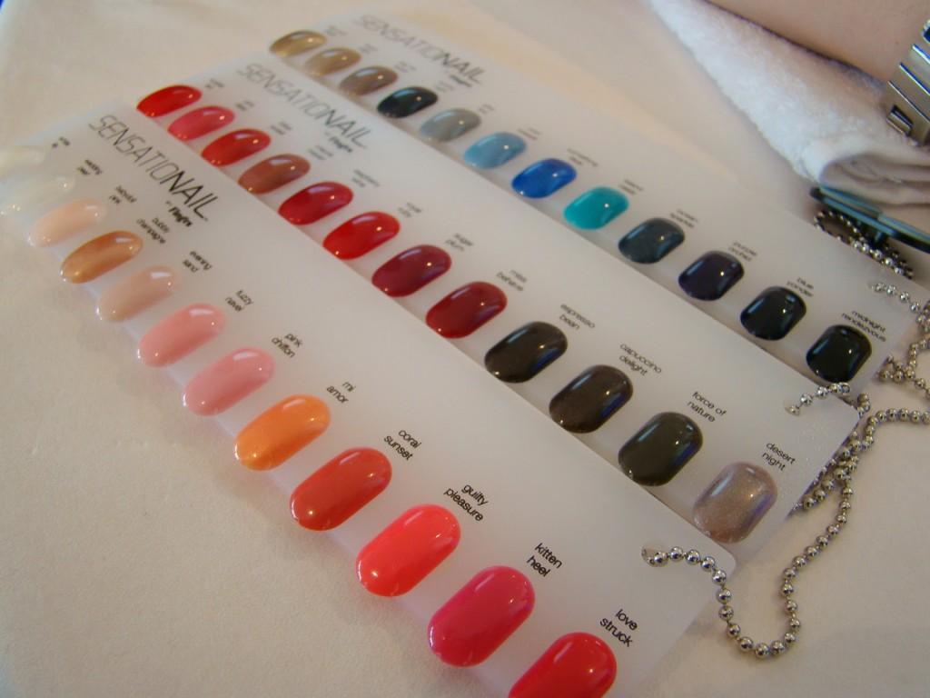 Sensationail LED Maniküre Farben