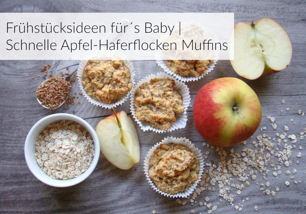 BWL-Frühstücksmuffins-Apfel-Haferflocken