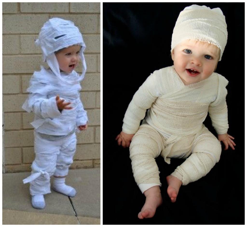 Mumie Last Minute Kostüm Kinder fAstacht