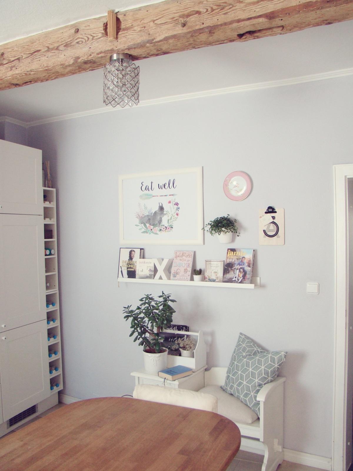 projekt k chenwand wie ein deko newbie den fr hling ins haus holte. Black Bedroom Furniture Sets. Home Design Ideas