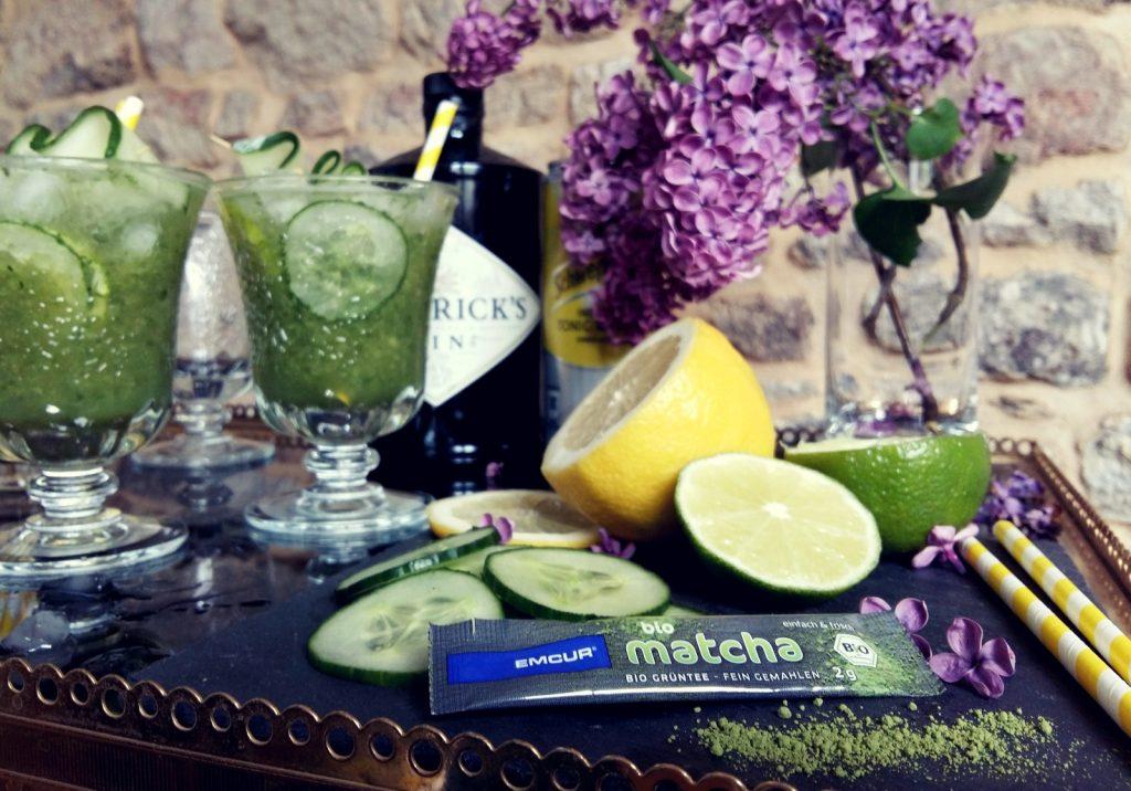 Gin Tonic mit Gurke Cocktail