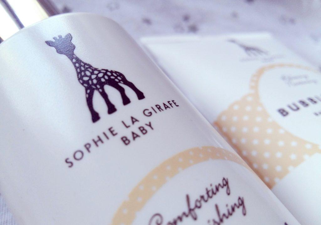 Sophie La Girafe Babypflege