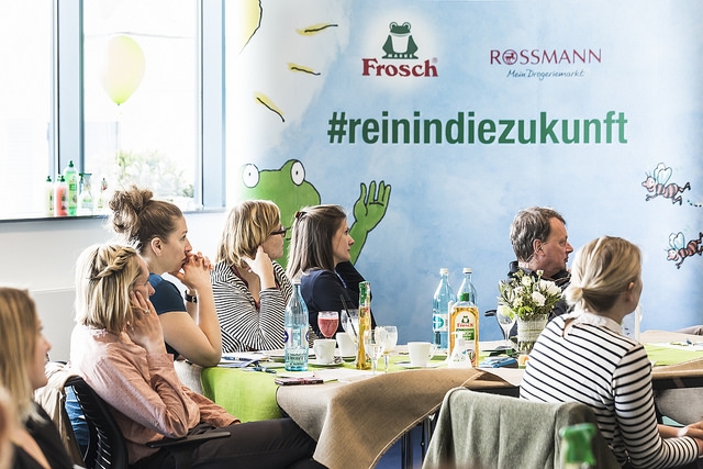 initiative frosch Bloggerevent rossmann