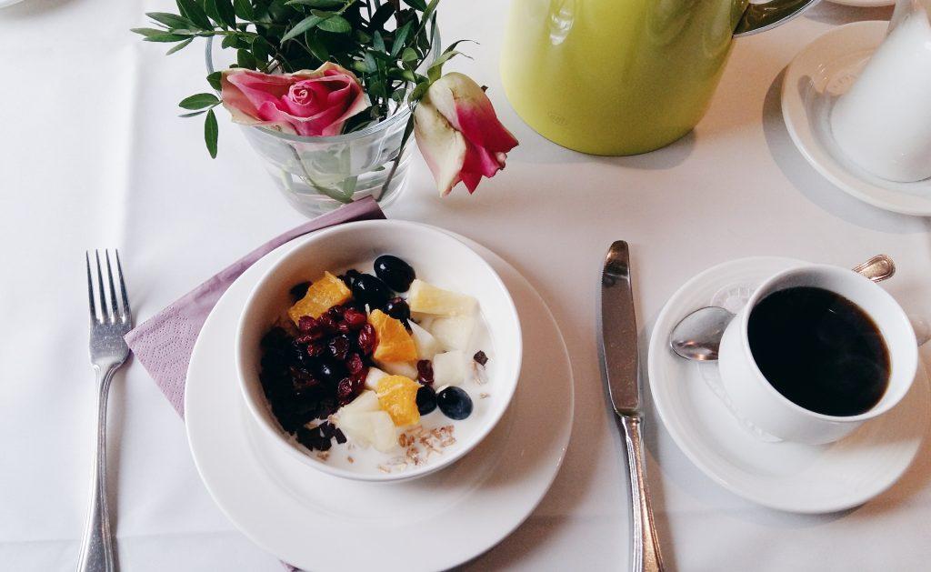 Frühstück Seehaus Forelle