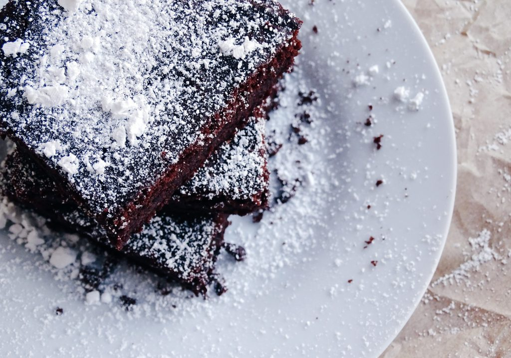 Rote Beete Double Chocolate Brownies