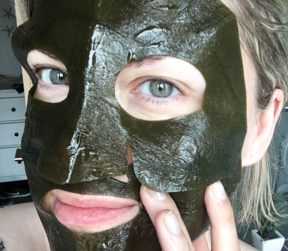 Whamisa Kelp Sheet Mask