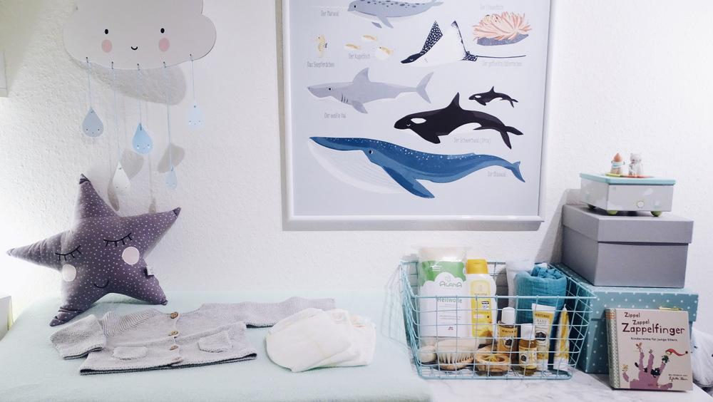unsere kleine babyh hle teil 1 der wickeltisch. Black Bedroom Furniture Sets. Home Design Ideas