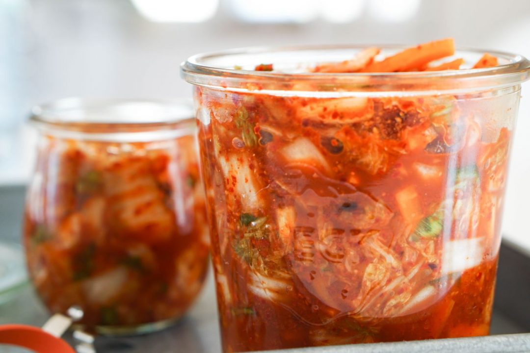 Rezept vegan Kimchi