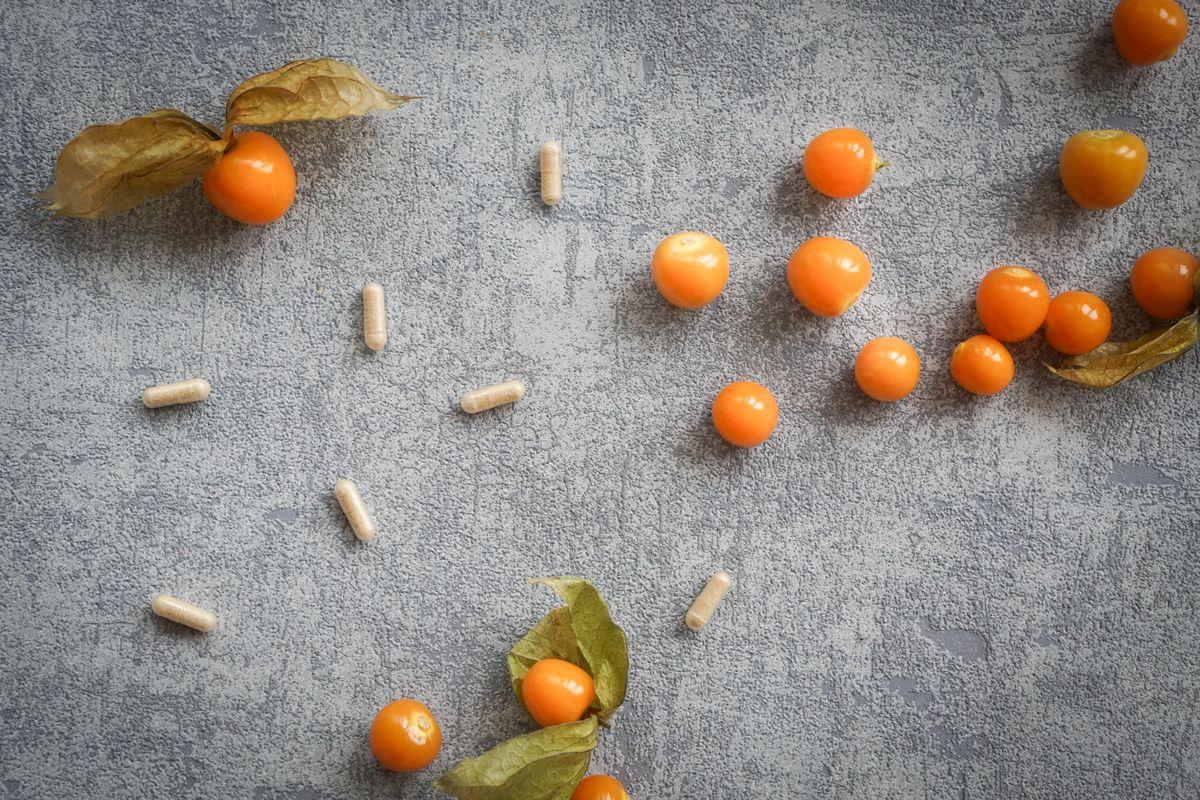 gesunde Ernährung mit Antioxidantien