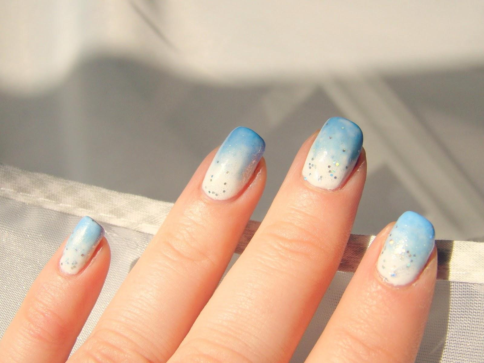 Blogparade Cinderella Nail Design