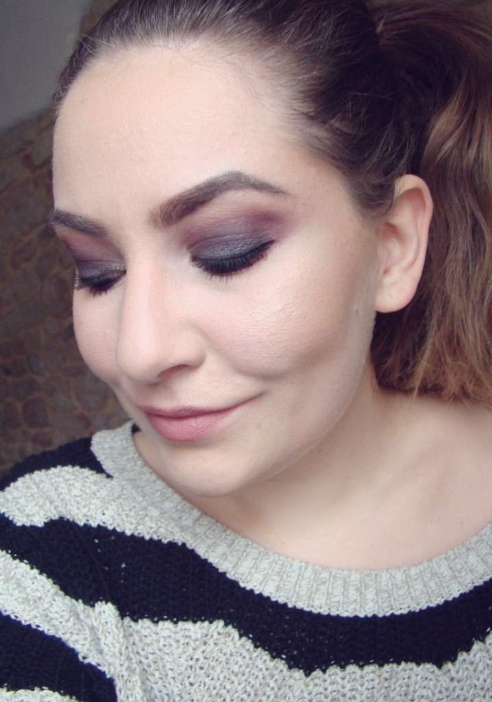 Nachgeschminkt Black Smokey Eyes Look 3