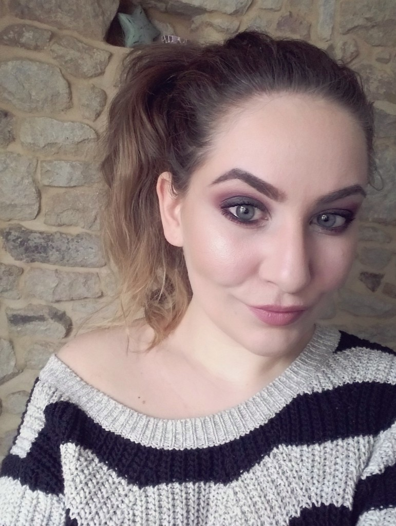 Nachgeschminkt Black Smokey Eyes Look Alverde Pretty Mauve