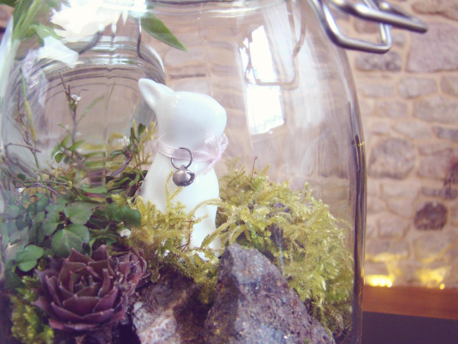 oster deko diy fairy garden terrarium im glas 001. Black Bedroom Furniture Sets. Home Design Ideas