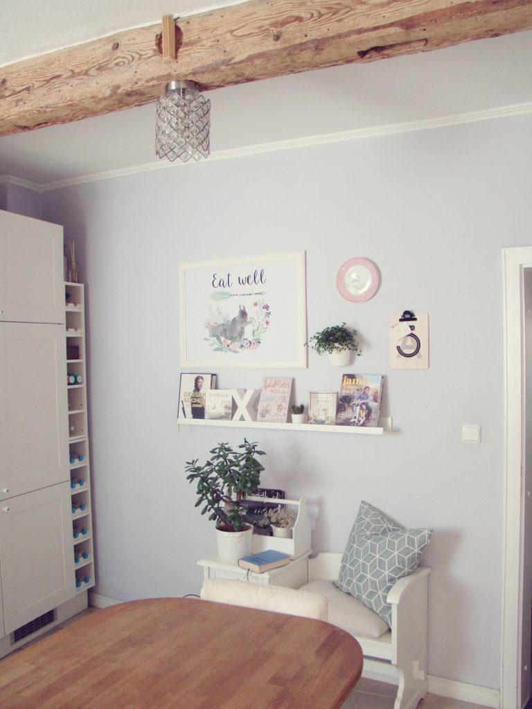 Fotowand Küche Wandteller Kochbücher