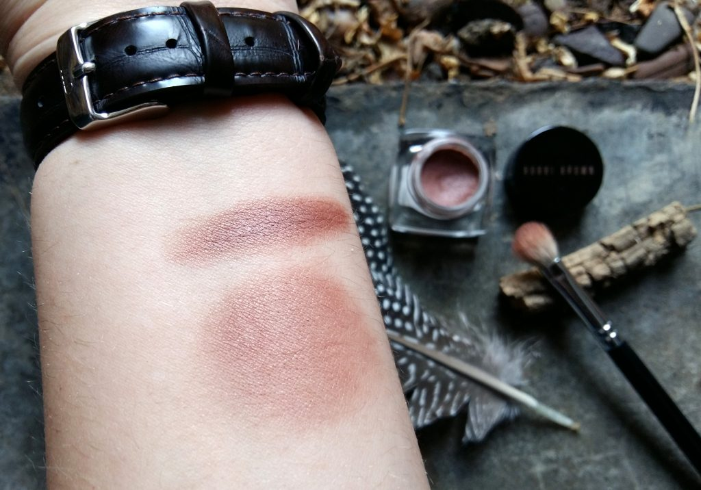 Bobbi Brown Long-Wear Cream Swatch Stone Pink Sunset Pink Collection
