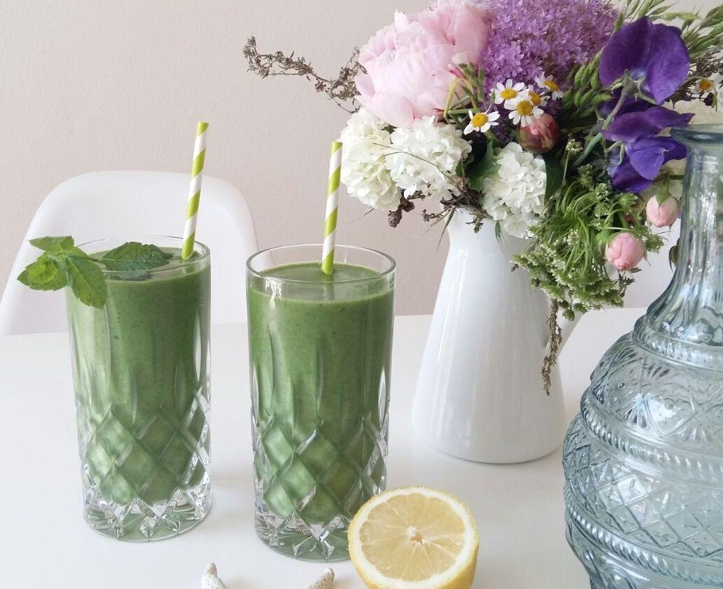 grüner smoothie gegen frühjahrsmüdigkeit
