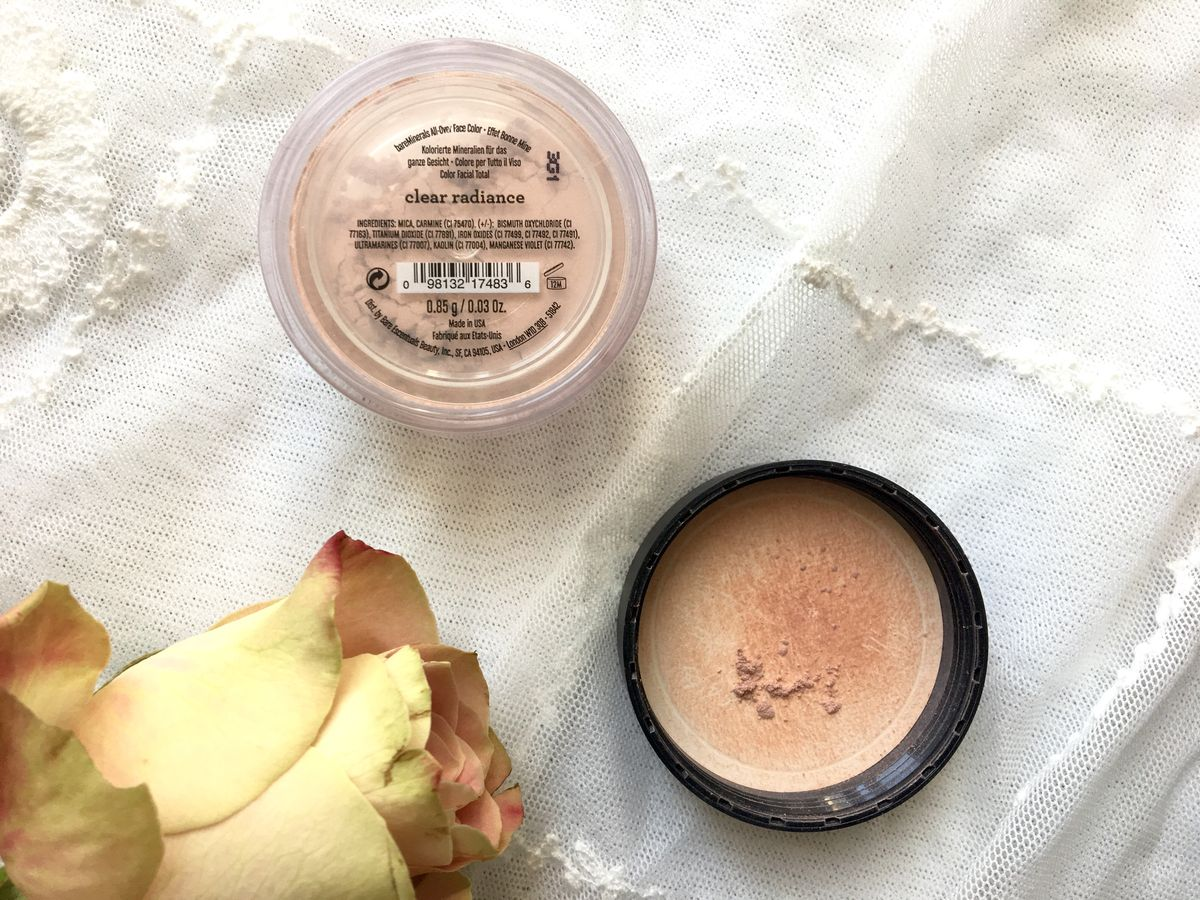bareminerals clear radiance highlighter