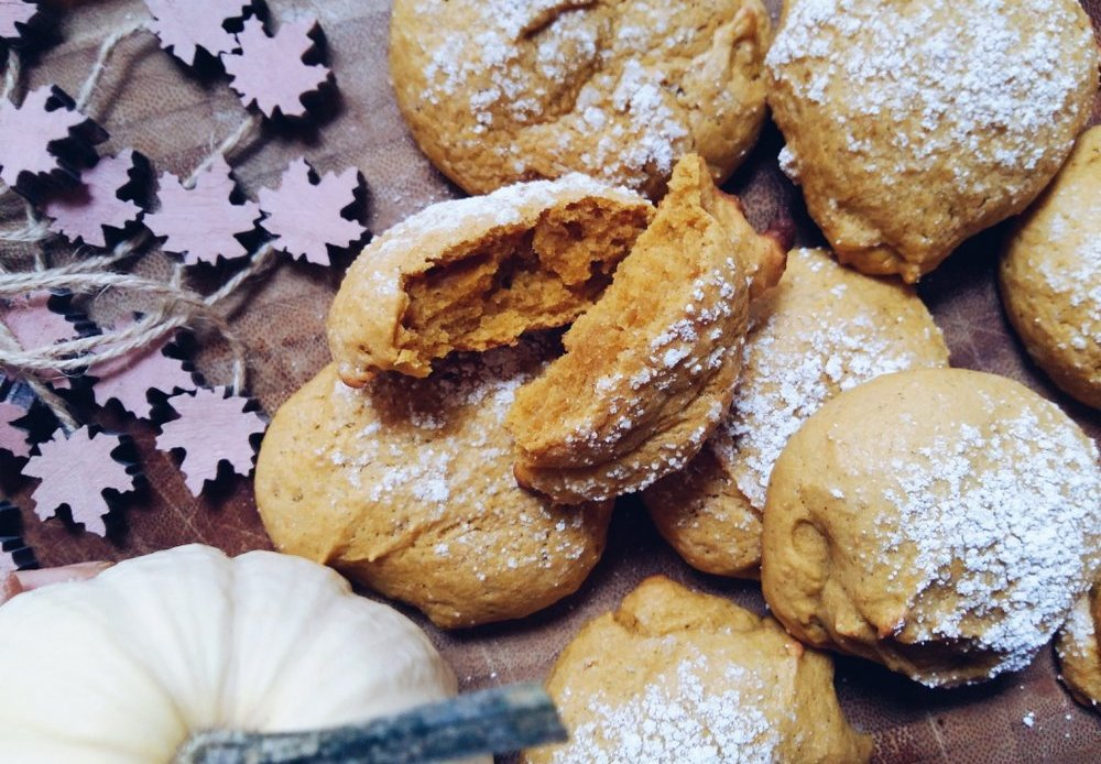 Kürbis Kekse