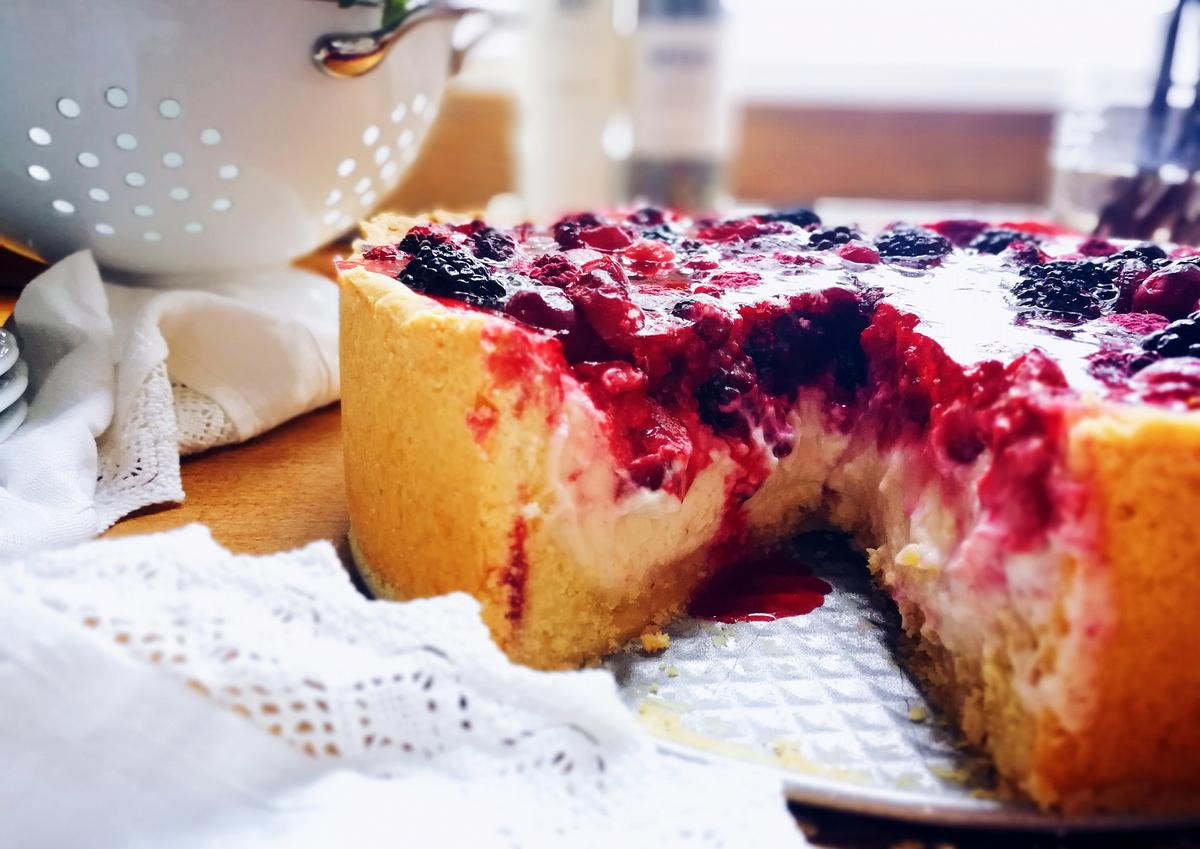 Lecker Unser Lieblingskuchen Pudding Schmand Torte Mit